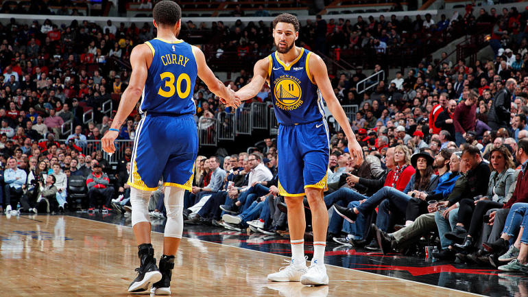 Steph Curry helping Klay Thompson break his 3-point record exemplifies  Warriors  unparalleled chemistry - CBSSports.com 5e6f7e5ea593