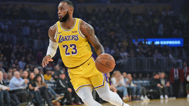 e854fdbdec59 Lakers  LeBron James to play versus Pelicans after missing practice due to  illness - CBSSports.com