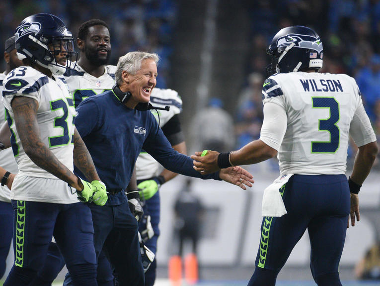 NFL: Seattle Seahawks at Detroit Lions