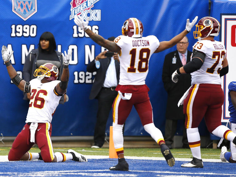 NFL: Washington Redskins at New York Giants