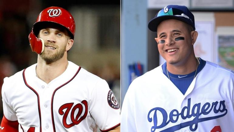 Four reasons the Yankees should sign Manny Machado or Bryce Harper to cap  their offseason - CBSSports.com 0c2dd628118d