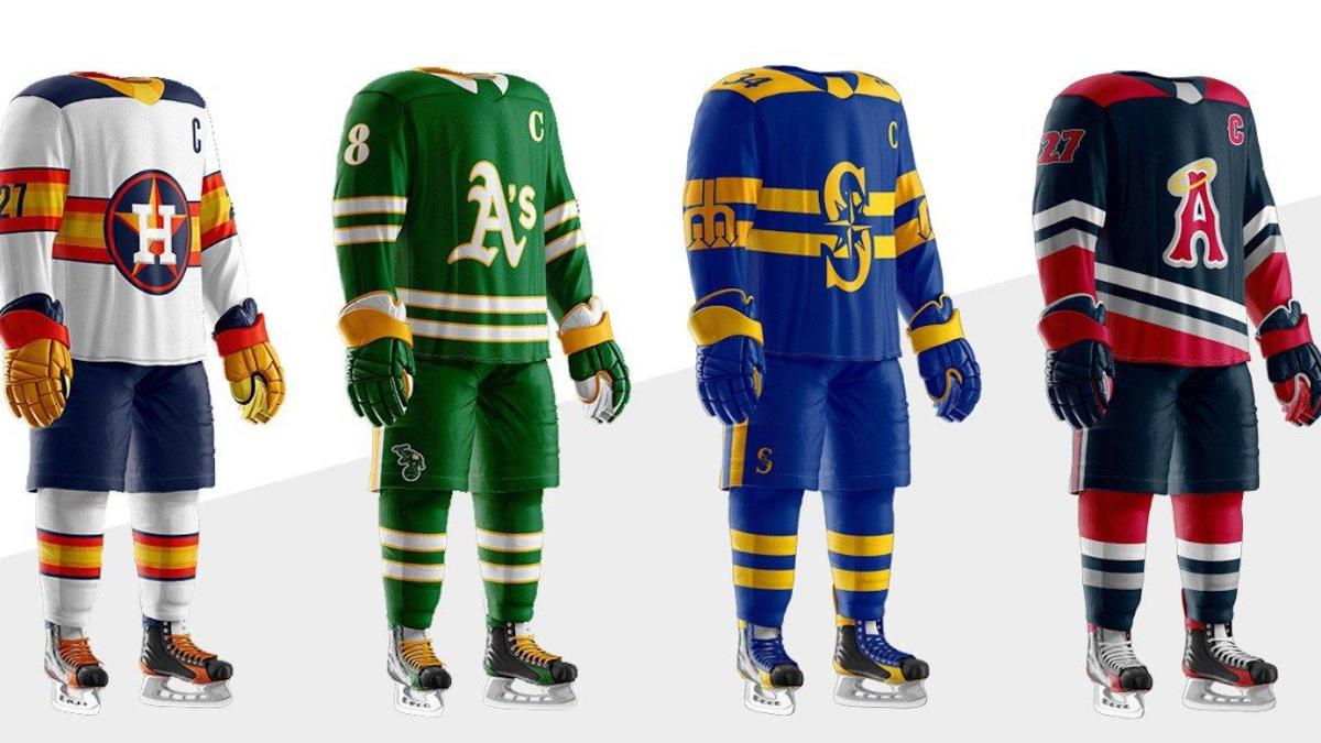 online retailer 9a21b 68af7 LOOK: What if every MLB team had its own NHL uniform? Here's ...