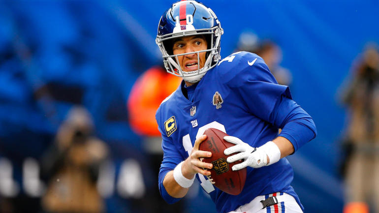 ff77a4701 Giants sticking with Eli Manning for Monday night showdown against Nick  Mullens