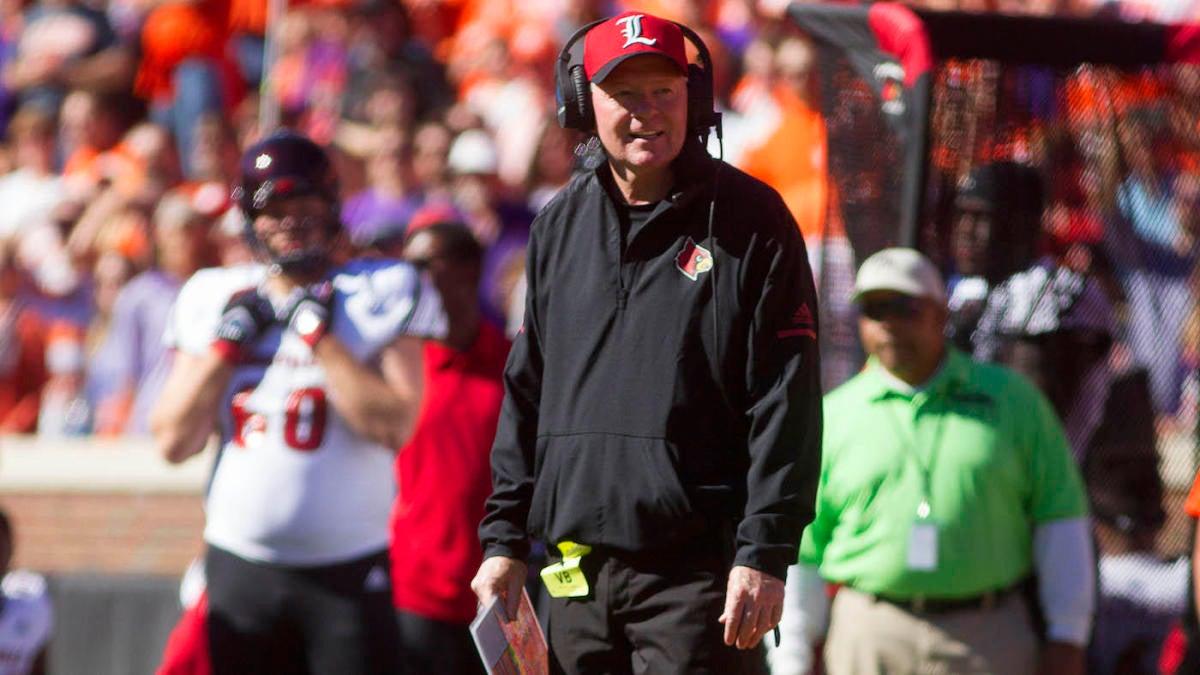 Ex-Louisville, Arkansas coach Bobby Petrino resurfaces at FCS Missouri State