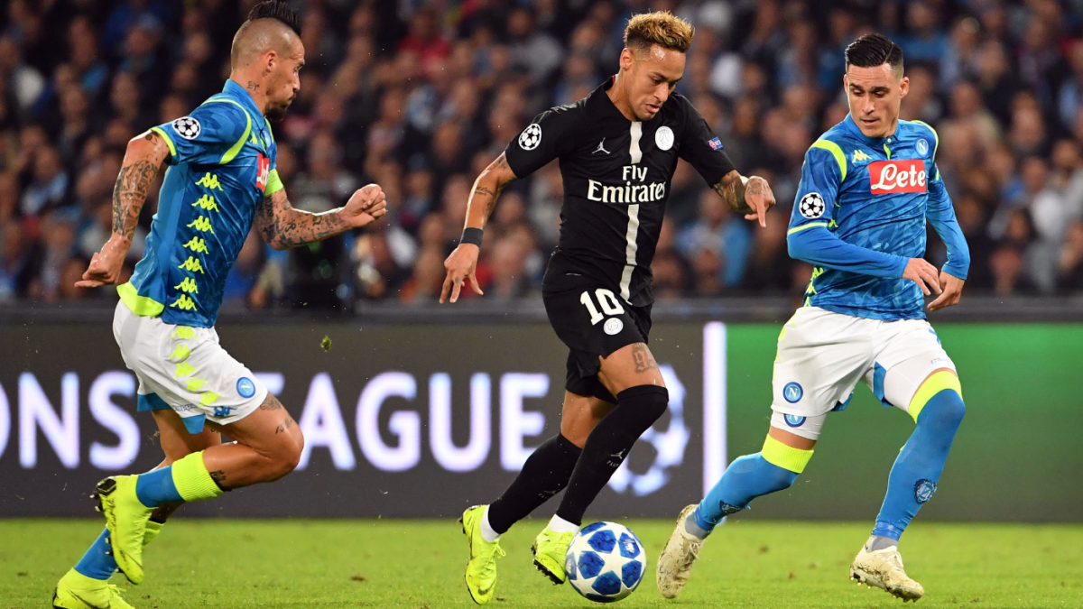 PSG Vs Napoli Score Neymar And Company Draw In Champions