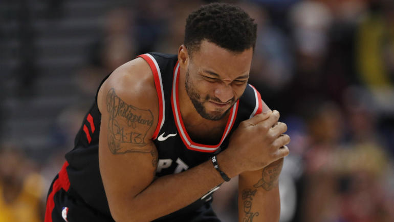 Raptors' Norman Powell expected to miss 4-6 weeks after shoulder injury, per report