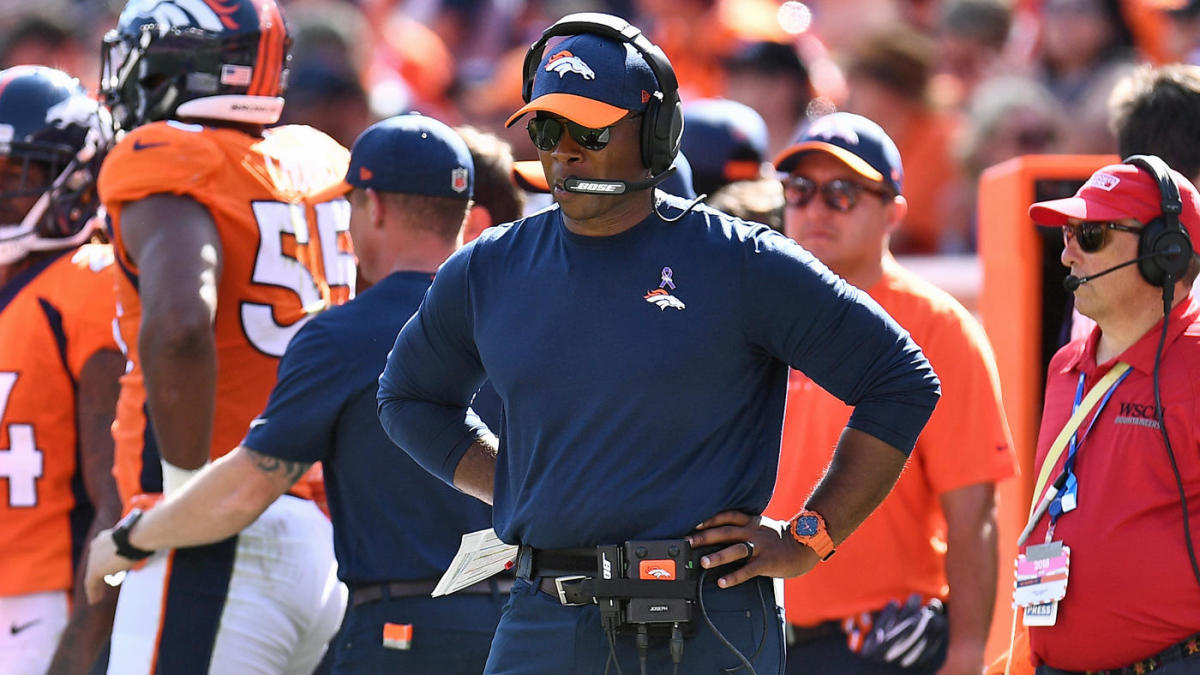 hot sale online 2fd6a 9738a Case Keenum on embattled Broncos coach: 'We all want to win ...