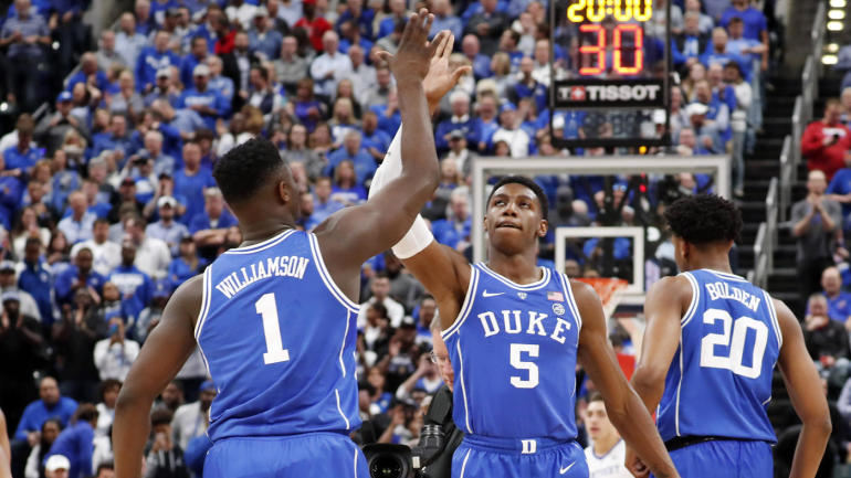 2019 NBA mock draft  Duke freshmen RJ Barrett 83f2eed83