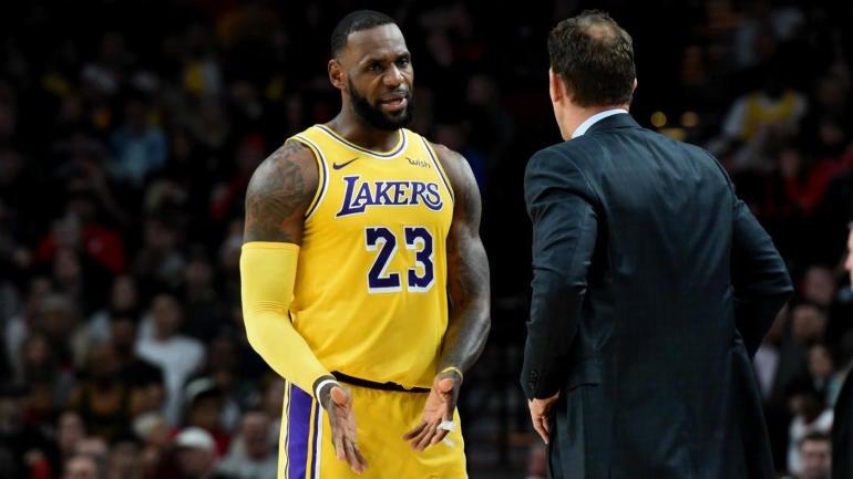 1893fe8bce6 LeBron James  camp wants Luke Walton out as Lakers head coach