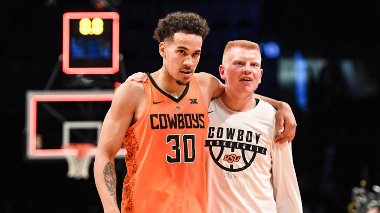 61789c5e3 Son of Bryant  Big Country  Reeves is surprised when he is given a  scholarship at Oklahoma State - CBSSports.com