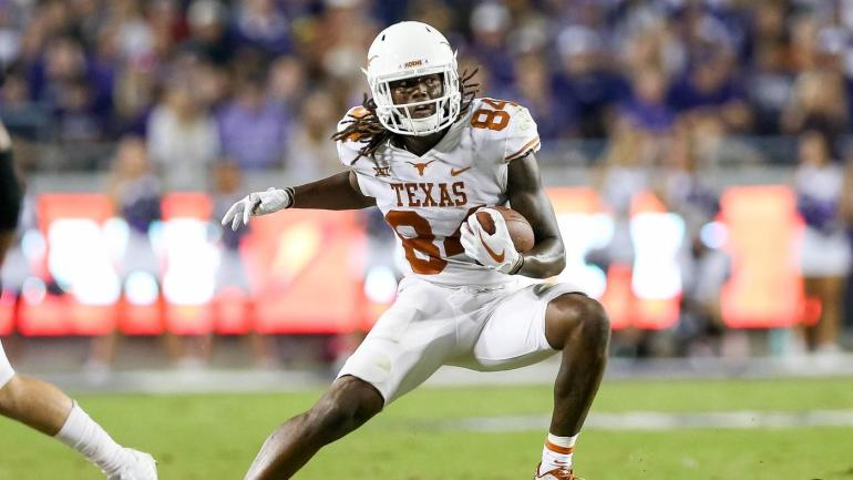 Watch Texas Wr Pulls A Michael Crabtree With Game Winning Td Vs