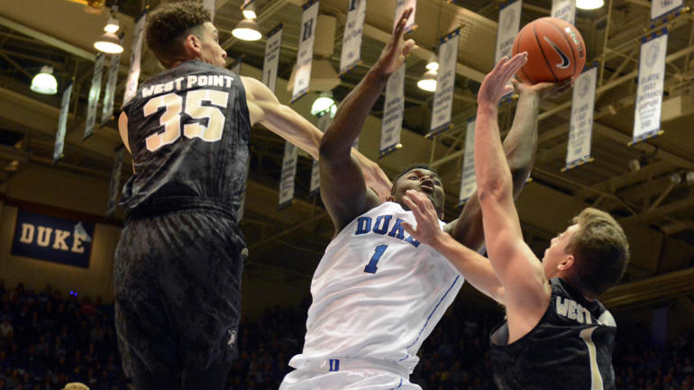 3a5469db84c1 4 Duke vs. Army score  Blue Devils  Big 3 lead the way in blowout win over  Army