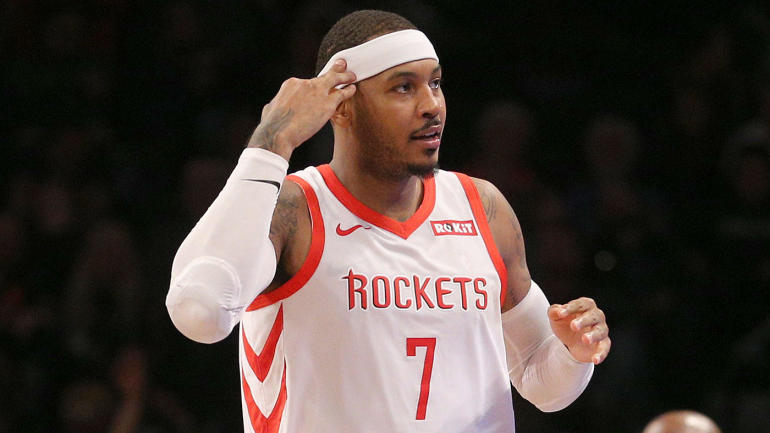 23073b4ae4dd There s at least one team that really wants Carmelo Anthony after his exit from  the Rockets - CBSSports.com