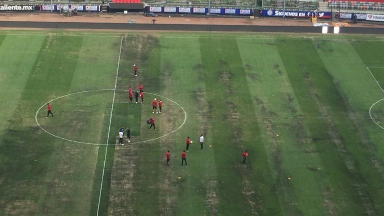 Azteca Stadium field conditions a  significant concern 99cc30faf44