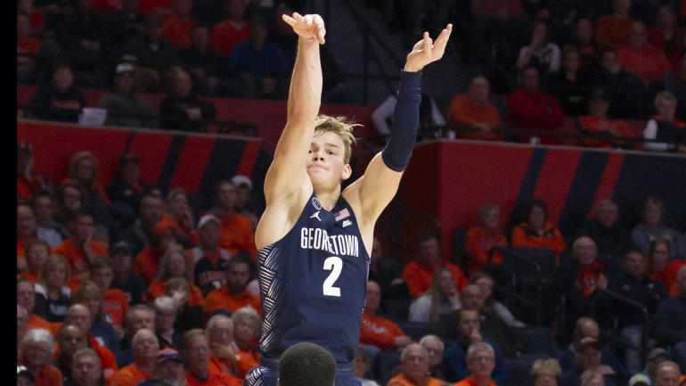 College Basketball Podcast: Georgetown's Mac McClung is a ...