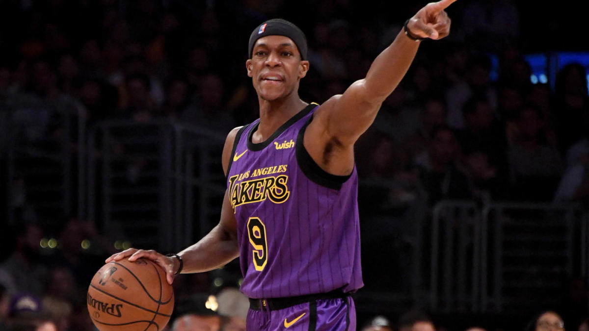 e9bf10d1b21 Rajon Rondo confirms that Anthony Davis trade talks had negative impact on  the Lakers