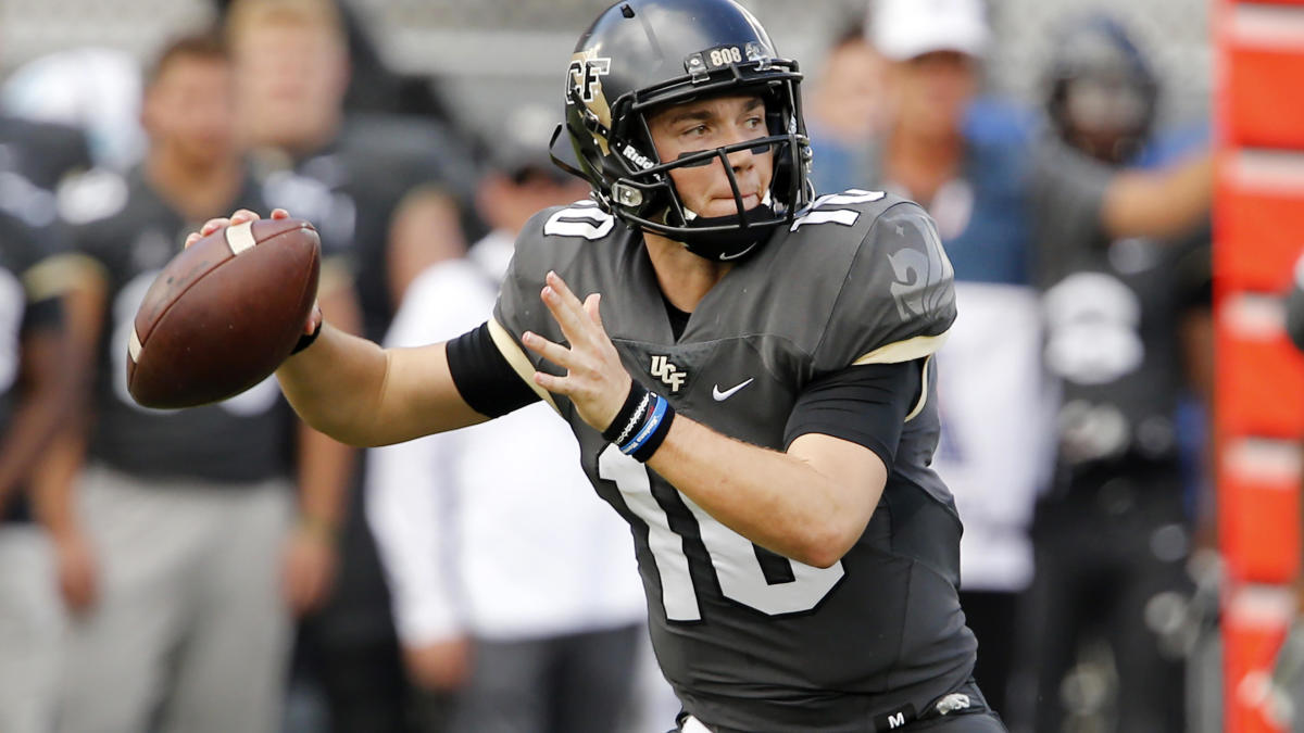 designer fashion 3a753 14581 Why UCF quarterback McKenzie Milton is trying to play ...