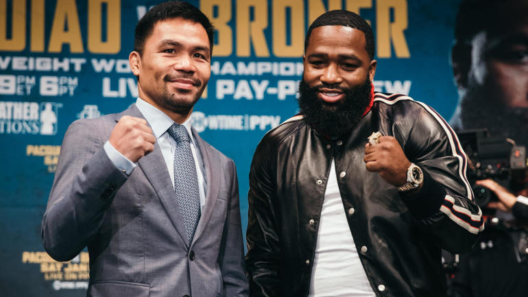 Manny Pacquiao vs. Adrien Broner fight officially set for Jan. 19 on Showtime PPV - CBSSports.com