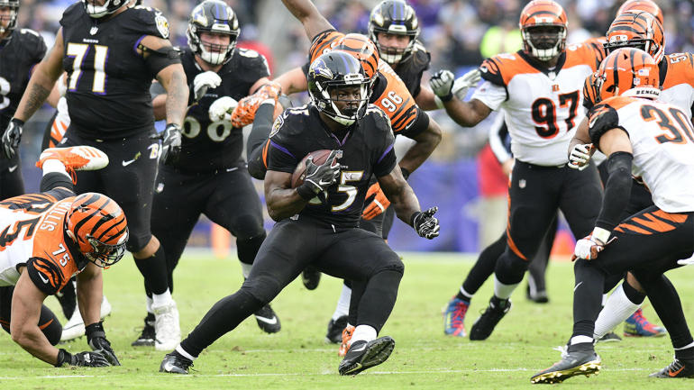 Fantasy Football Week 11 reactions and Week 12 early waiver wire  Gus  Edwards steals the show for Ravens 626fafe78