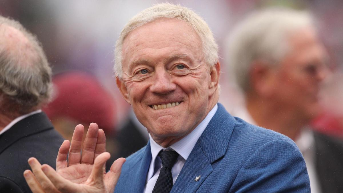 Cowboys owner Jerry Jones headlines group of Pro Football Hall of Fame presenters for the Class of 2019