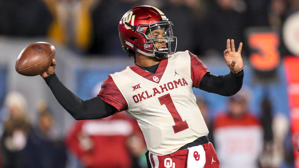 super popular 6a78f 6bd32 Oklahoma QB Kyler Murray reaffirms plan to play for Oakland ...