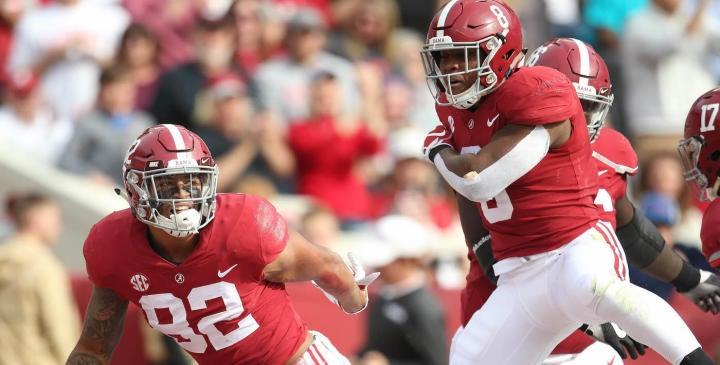 NCAA Football: The Citadel at Alabama