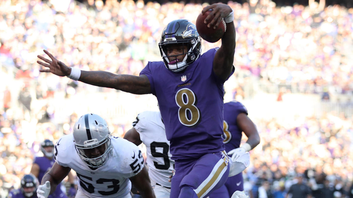 868a50502c6 NFL Week 12 Grades: Ravens get an A- with Lamar Jackson, Bengals fail  miserably in loss to Browns - CBSSports.com