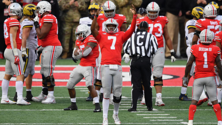 though unexpected ohio state follows the game s typical script in