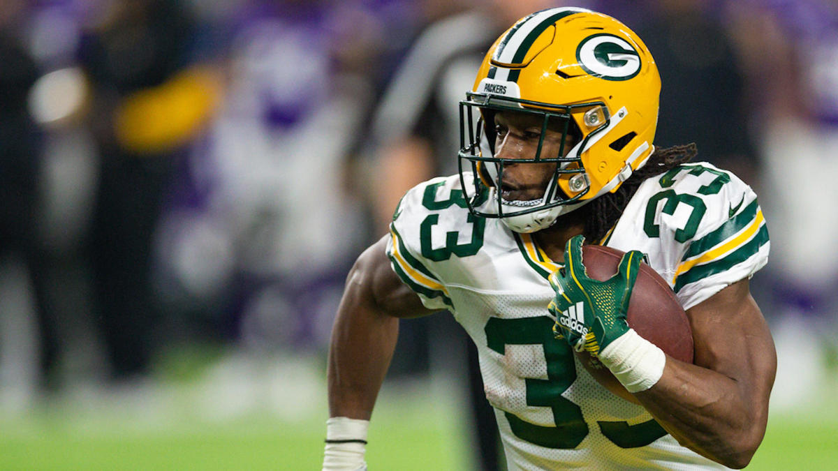 Aaron Jones Talks Contract Extension With Green Bay Wants To Be A Lifelong Packer Cbssports Com