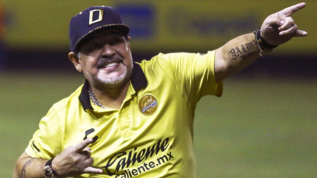Diego Maradona will reportedly remain as Gimnasia's manager after it looked like he was on his way out