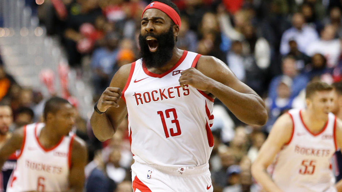 NBA scores, highlights: James Harden goes for 54, but ...