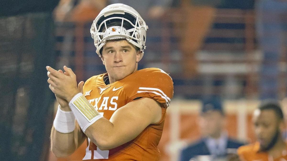 Oklahoma Qb Kyler Murray Texas Qb Sam Ehlinger Trade Subtle Shade Ahead Of Big 12 Championship Game Cbssports Com