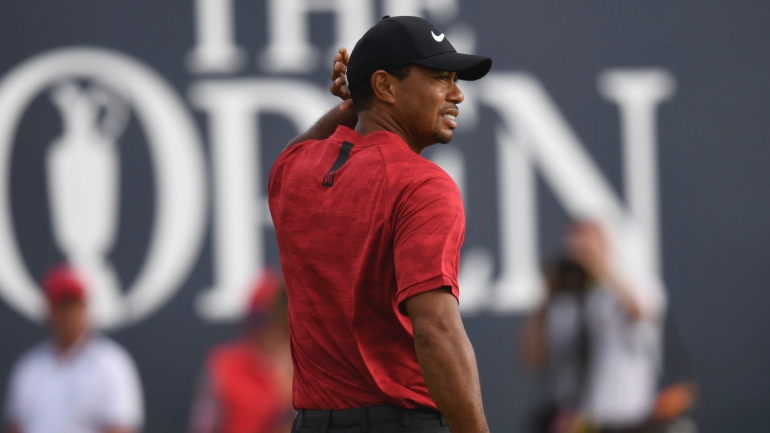 tiger woods discusses incredible 2018 british open bunker