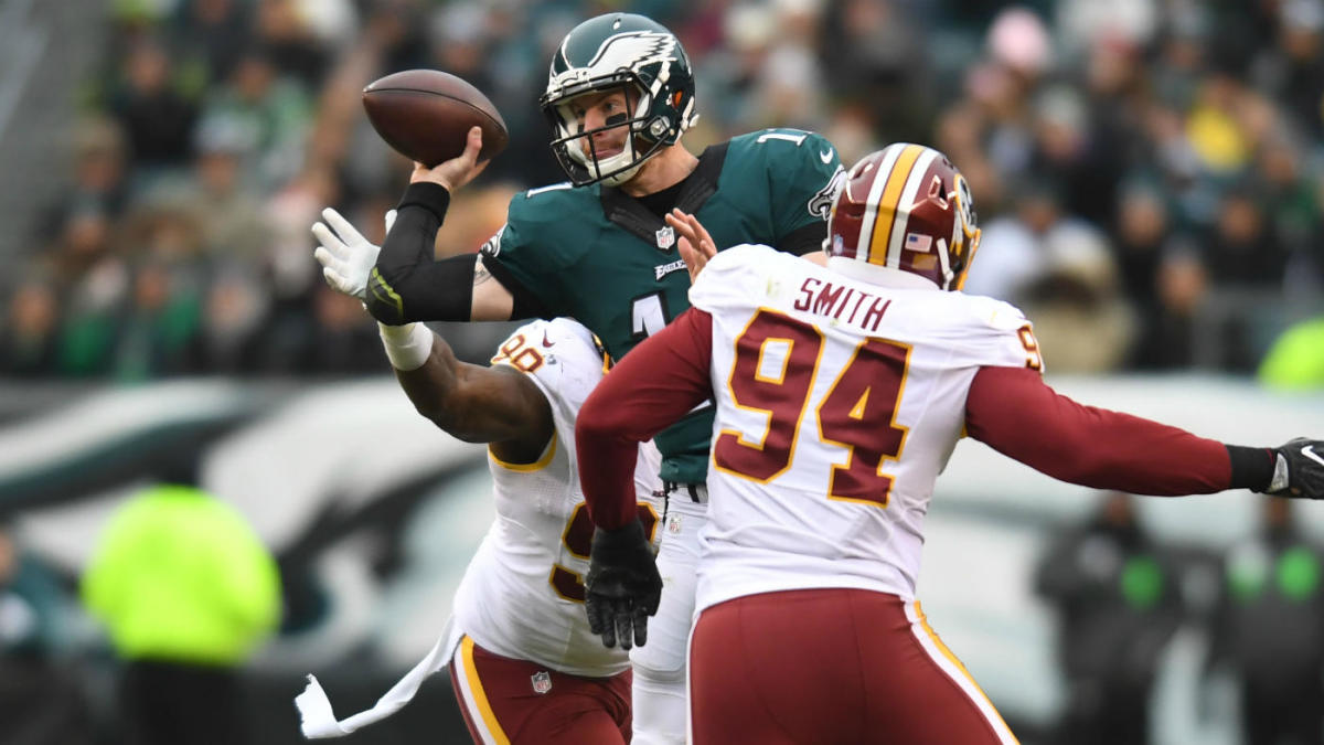 38a486e5b79 Week 13 NFL odds, picks: Eagles edge Redskins, Texans beat Browns for ninth  straight, Steelers top Chargers - CBSSports.com