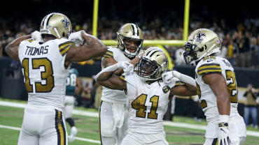 NFL: Philadelphia Eagles at New Orleans Saints