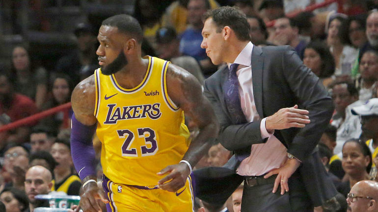 7aaa9f74844 Jumping the gun on LeBron James  Lakers and a wide-open MVP race among top  10 NBA first-quarter takeaways - CBSSports.com