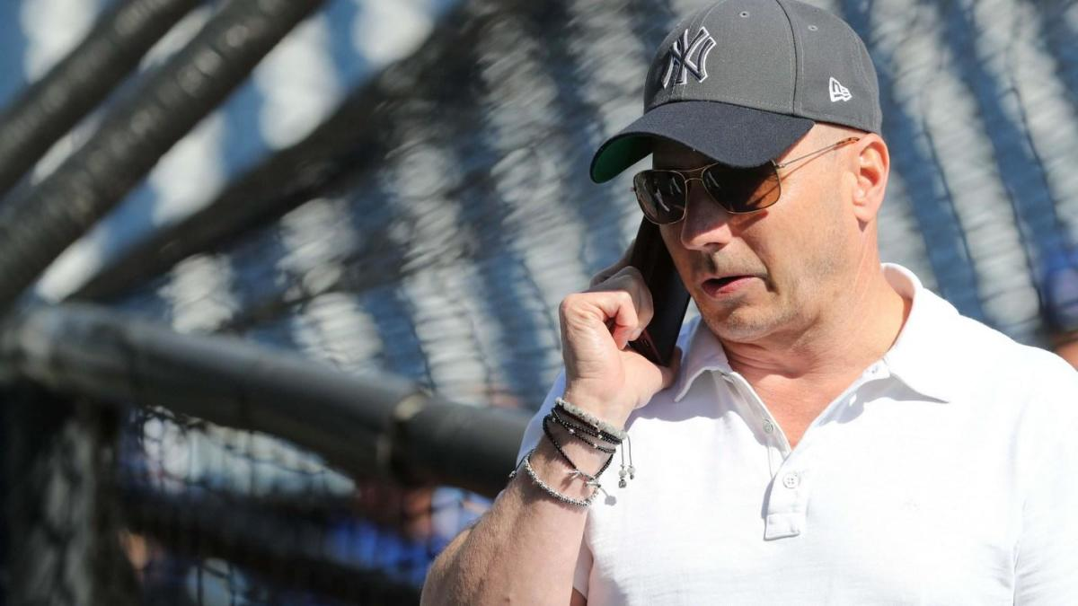 efae6b7643bfb4 Yankees GM Brian Cashman says they are 'going to target starting pitching'  at the MLB trade deadline