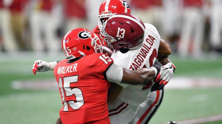 Tua Tagovailoa injury: Alabama star QB leaves SEC title game