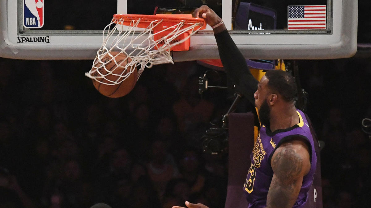 Nba Scores Highlights Lebron James Lakers Rally Past