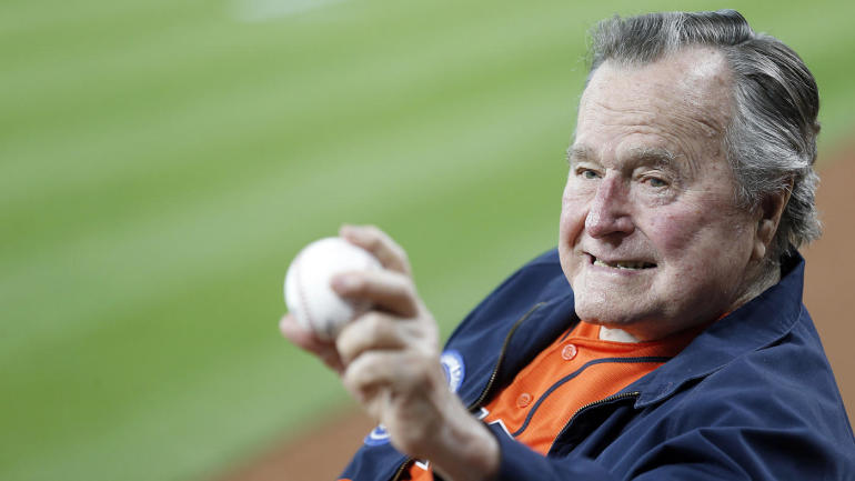 George H W Bush Had A Special Connection With Baseball Throughout
