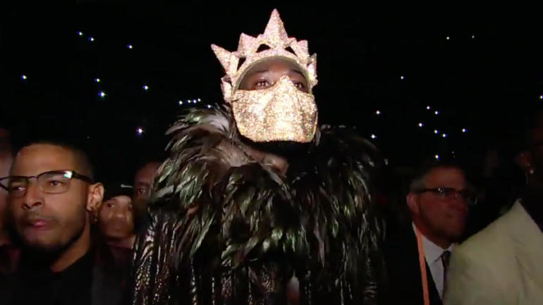 Image result for deontay wilder entrance outfit