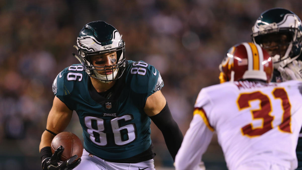 Why Zach Ertz is the NFL's best tight end - CBSSports.com