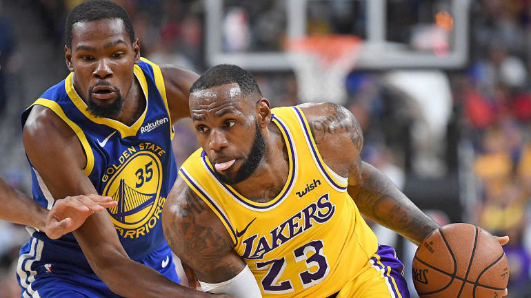 81f0dbe7cbc Lakers  LeBron James has a good reason why he won t respond to Kevin  Durant s criticism - CBSSports.com