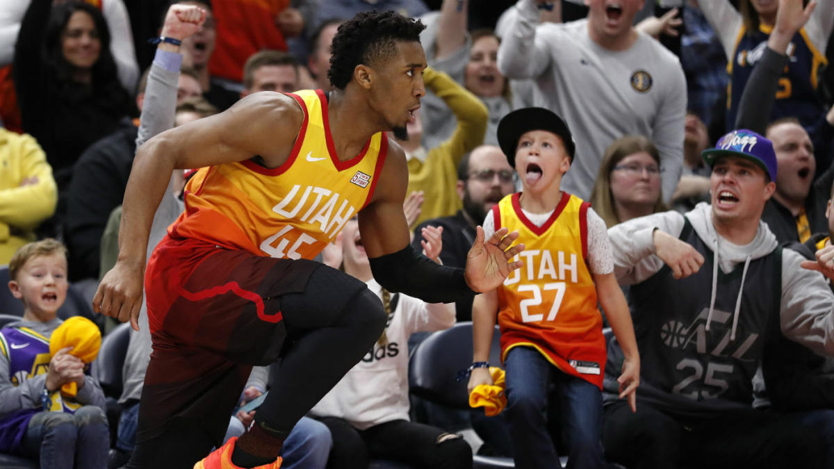 buy popular b4a59 e3041 How Jazz star Donovan Mitchell and Salt Lake City came ...