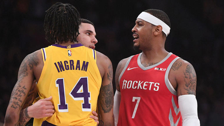 b514057a86c9 Lakers have no interest in Carmelo Anthony trade despite LeBron James   desire to add friend