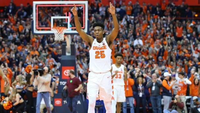 Syracuse Vs Georgetown Score Tyus Battle Hits Late Go