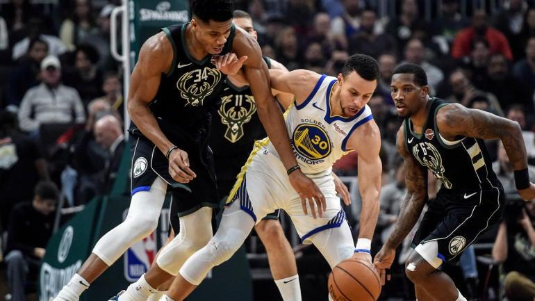 Warriors Vs. Bucks score: Golden State proves it's still a beast above everyone else by Winning sloppy game - CBS Sports