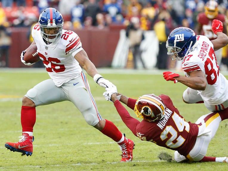 NFL: New York Giants at Washington Redskins