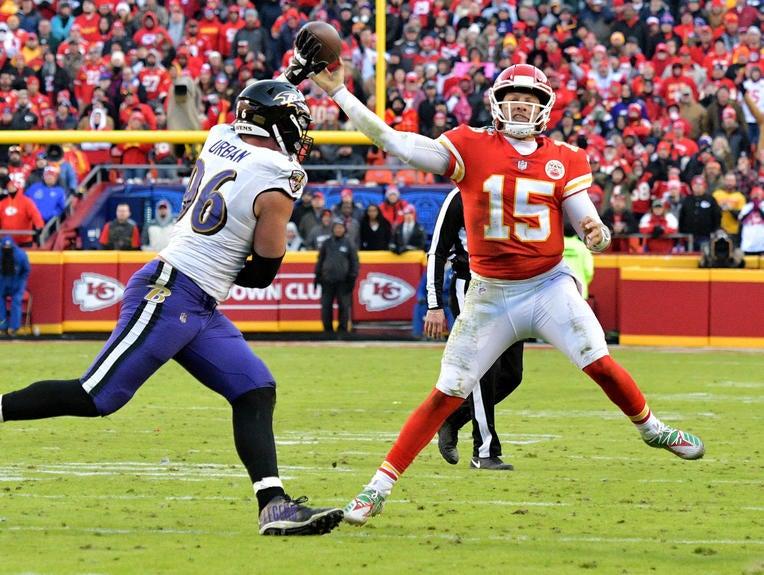 NFL: Baltimore Ravens at Kansas City Chiefs