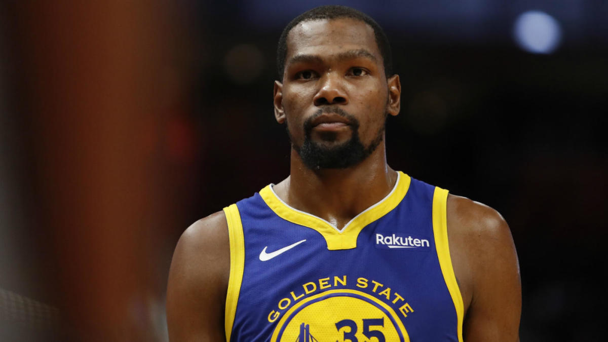 premium selection 54197 adc9d Kevin Durant confident that Warriors' core will all get ...
